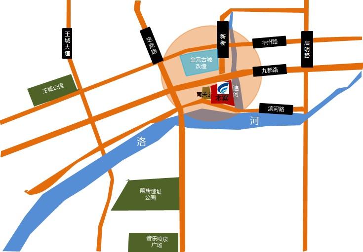洛阳市区地图高清全图