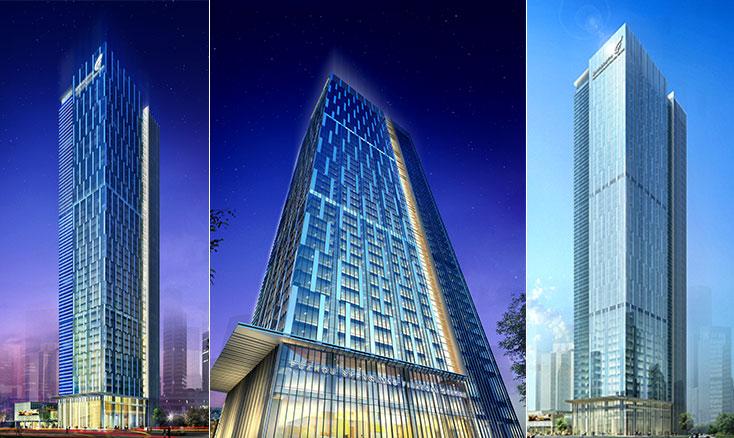 福州升龙汇金中心 — 208米海峡金融街精装企业王国